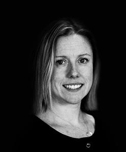Headshot of Rebel director of client services Katy McGrath