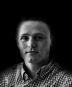 Headshot of Rebel digital marketing intern Kieran Tindall
