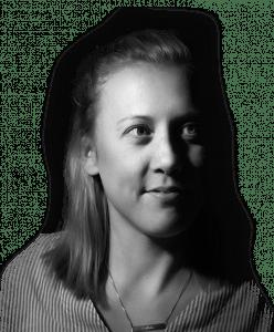 Headshot of Rebel account executive Emilia Gray