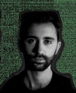 Headshot of Rebel videographer and editor Jesse Petrini