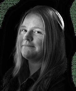 Headshot of Rebel's senior graphic designer Laura Campbell
