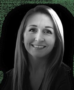 Headshot of Rebel account executive Sarah Riedel
