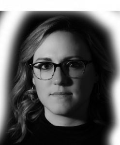 Headshot of Rebel account executive Victoria Wollenberg