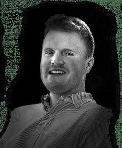 Headshot of Rebel irector of paid media Zack Hummel