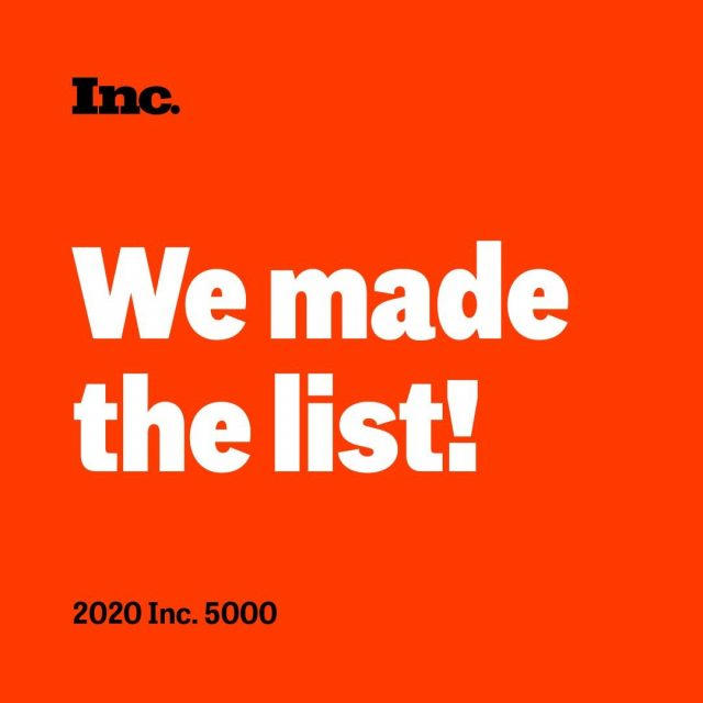 Why did Rebel make the 2020 #inc5000 Fastest Growing Companies in America list? We know your mindset. We know your business. We know how to help you engage your forward momentum. And we're with you every step of the way. Find our rank and the full list at the link in bio.